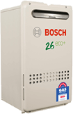 Bosch continuous flow instant hot water heater