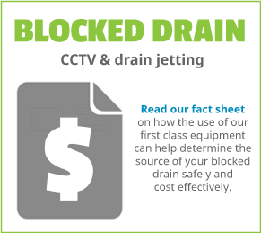 Information for Sydney homeowners with a blocked drain and require use of CCTV and water jetting equipment
