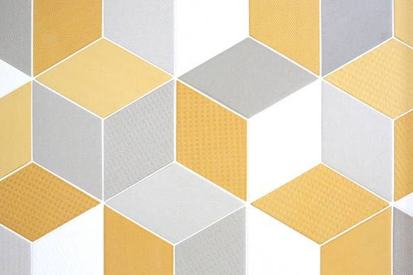 geometric tiles textured